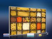 Infrarot Bildheizung 500 Watt 90x60 M10-SL Nudeln und Hülsenfrüchte