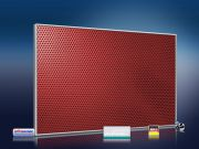 Infrarot Bildheizung 500 Watt 90x60 M10-SL Löcher rot