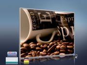 Infrarot Bildheizung 400 Watt 70x60 M10-SL Café 2