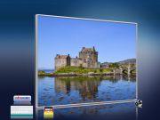 Infrarot Bildheizung 400 Watt 70x60 M10-SL Eilean Donan Castl