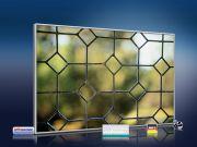 infrarot Bildheizung 500 Watt 90x60 M10-SL Fenster III