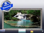 Infrarot Bildheizung 700 Watt 120x60 Stilrahmen StSi Flusslauf