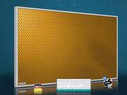 Infrarot Bildheizung 500 Watt 90x60 M10-SL Löcher orange