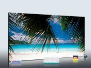 Infrarot Bildheizung 700 Watt Rahmenlos slim-line 120x60 Strand
