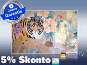 Infrarot Bildheizung Kunst 500 Watt 90x60 M10-SL Tigerlilli