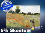 Infrarot Bildheizung Kunst 500 Watt 90x60 M10-SL Klatschmohn (Monet)