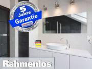Infrarot Bad Spiegelheizung mit Thermostat 320 Watt 120x35 M10-SL