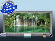 Infrarot Bildheizung 900 Watt 140x60 Stilrahmen Stsi Wasserfall