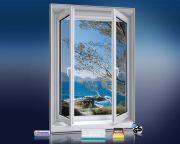 Infrarot Bildheizung 500 Watt 90x60 M10-SL Fensterblick Mallorca