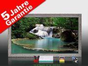 Infrarot Bildheizung 600 Watt 110x60 Stilrahmen StSi Flusslauf