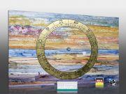 Infrarot Bildheizung 500 Watt Rahmenlos slim-line 90x60 Horoscope