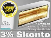 Infrarotstrahler Heliosa HiDesign 44 Amber Light 2000 Watt IPX5