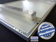 Infrarot Deckenheizung 600 Watt ESG Glas weiß 110x60 Rahmen M10