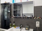 Infrarotheizung Glas weiß Spiegelheizung Bad 500 Watt 90x60 M10W