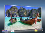 Infrarot Bildheizung 600 Watt 110x60 M10-SL Andamanen