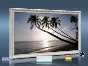 Infrarot Bildheizung 600 Watt 110x60 Stilrahmen StAw Barbados