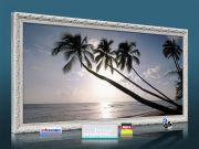 Infrarot Bildheizung 900 Watt 140x60 Stilrahmen StAw Barbados