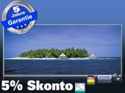 Infrarot Bildheizung 900 Watt 140x60 M10-SL Malediven Palmeninsel
