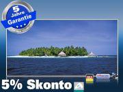 Infrarot Bildheizung 700 Watt 120x60 M10-SL Malediven Palmeninsel