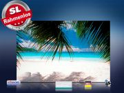 Infrarotheizung als Bild Bildheizung 500 Watt 90x60 M10-SL Karibik