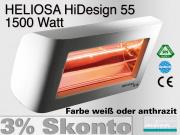 Infrarot Heizstrahler Heliosa HiDesign 55 IPX5 1500 Watt Wasserdicht