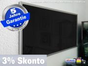 Fern Infrarotheizung 1400 Watt 200x80 ESG Glas schwarz emailliert M23