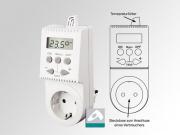 Thermo Schaltsteckdose TS05 Steckdosen Thermostat - Einfache Bedienung