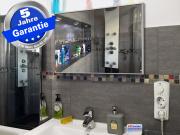 Infrarotheizung mit Thermostat ESG Glas schwarz 210 Watt 60x40 M10