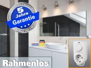 Infrarot Spiegelheizung mit Thermostat 900 Watt 140x60 M10-SL