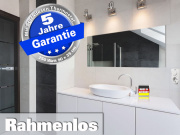 Infrarot Spiegelheizung mit Thermostat 250 Watt 90x35 M10-SL