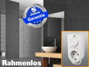 Infrarot Spiegelheizung mit Thermostat 400 Watt 70x60 M10-SL