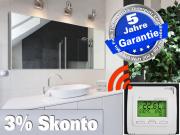 Infrarot Spiegelheizung 1400 Watt 200x80 M10 mit Funk Thermostat