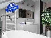 Fern Infrarotheizung 900 Watt ESG Glas weiß 140x60 Alurahmen M10