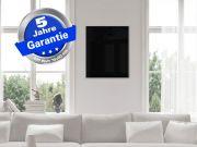 Fern Infrarotheizung 400 Watt Glas weiß Bad Spiegelheizung 70x60 M10