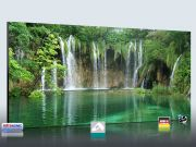 Infrarot Bildheizung 900 Watt Rahmenlos slim-line 140x60 Wasserfall