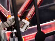 infrarot Heizstrahler HeizMeister Quadrus 2KW für Deckenmontage mit FB