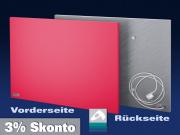 Infrarot Heizkörper farbig nach RAL-Karte Rahmenlos steel-line in 8 Größen