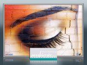 Bildheizung-Motiv Auge für Standard Infrarotheizungen