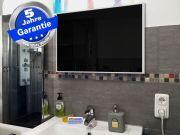 Infrarotheizung Glas schwarz Spiegelheizung Bad 500 Watt 90x60 M10W