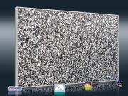 Naturstein Optik Granit grau fein für Infrarot Bildheizung