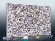 Naturstein Optik Schotter für Infrarot Bildheizung