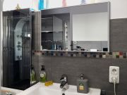Infrarot Spiegelheizung Bad 600 Watt ESG Glas 110x60 M10
