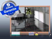 Infrarot Spiegelheizung 500 Watt ESG Glas 90x60 Holzrahmen HB30
