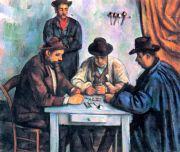 Cézanne: Kartenspieler Bildauswahl für Bildheizung 70x60