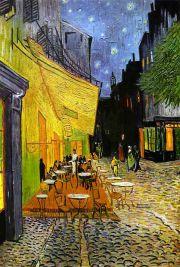 van Gogh: Café de nuit Bildauswahl für Bildheizung 60x90