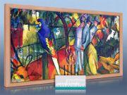 Infrarot Bildheizung Kunst 600 Watt 110x60 HB30 Zoologischer Garten