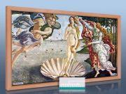 Infrarot Bildheizung Kunst 600 Watt 110x60 HB30 Geburt der Venus