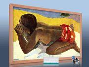 infrarot Bildheizung 500 Watt 90x60 HB30 Otahi allein (Gauguin)