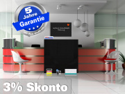 Infrarotheizung Tafelheizung Schreibtafel ESG Glas 500 Watt 90x60 M10