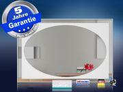 Design Spiegel mit Infrarotheizung 500-900 Watt 4 Größen M10 Oval